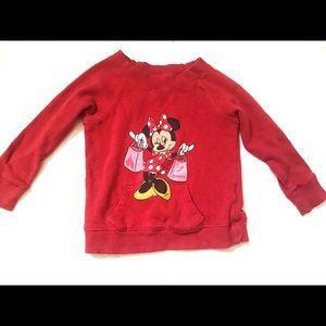 Minnie Mouse Disneyland Sweatshirt